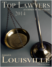 top lawyers Louisville 2014 cover