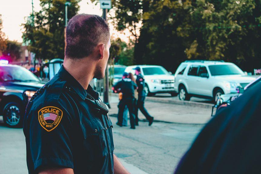Law Enforcement Making An Arrest